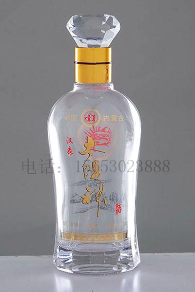 晶白玻璃瓶-004 .